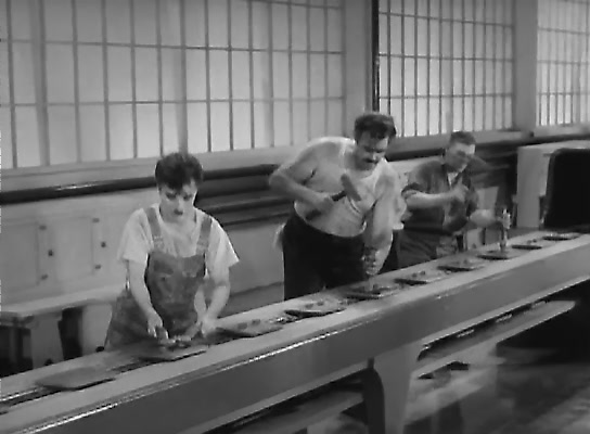 Charles Chaplin - Modern Times (1936)