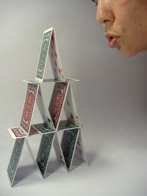 13 castelo de cartas