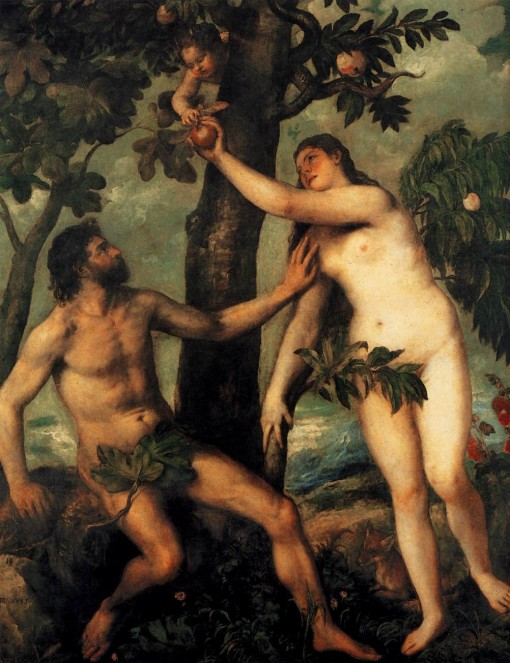Adão e Eva, 1550
