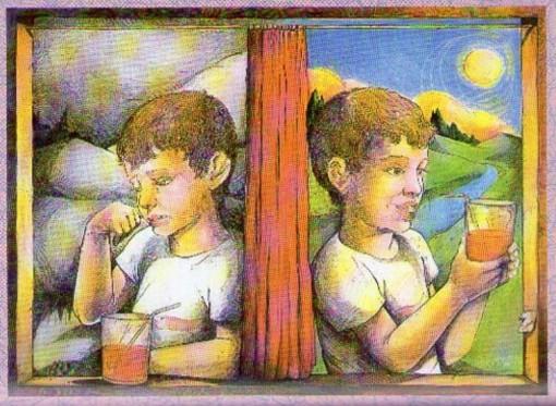 Otimista e o pessimista