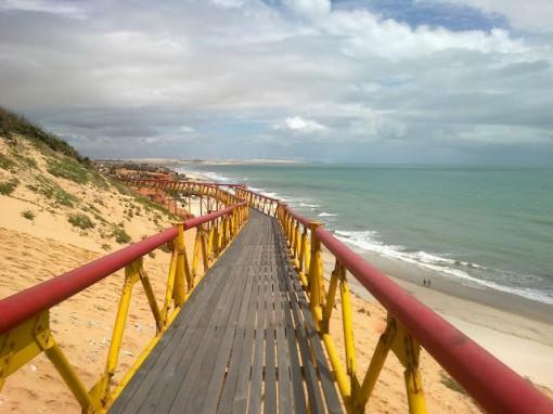 Ponte da praia de Canoa Quebrada, Aracati, Ceará - Brazil