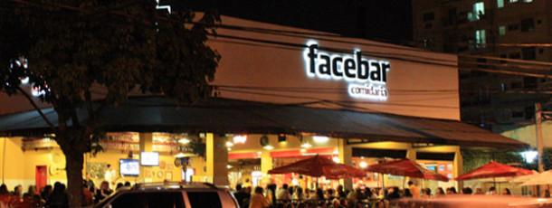 O facebook é um bar
