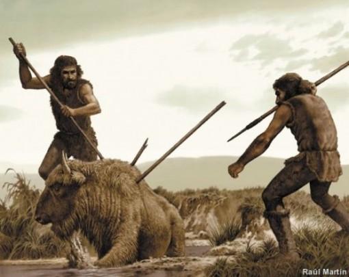 sapiens cazando