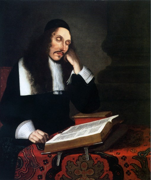 Baruch_Spinoza_-_Franz_Wulfhagen_-_1664